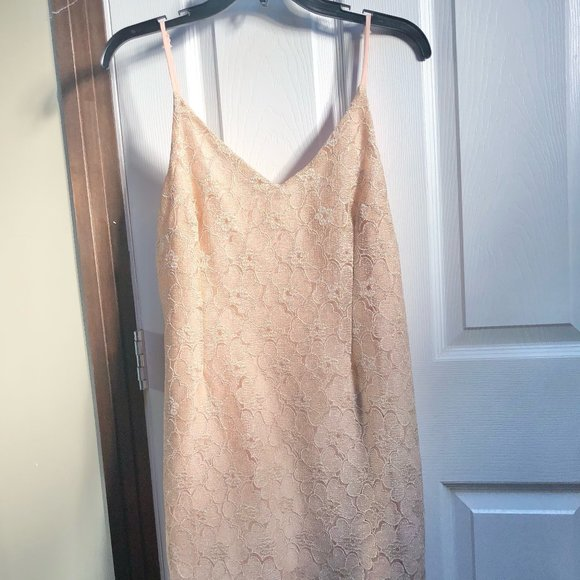 Urban Outfitters Lace Slip Dress